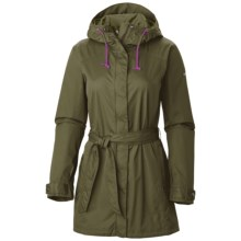 Columbia Sportswear Pardon My Trench Omni-Shield® Rain Jacket - Waterproof (For Women) in Peatmoss - Closeouts