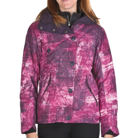 Columbia Sportswear Paris Jacket - Waterproof, Insulated (For Women) in Dark Plum