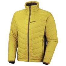 Columbia Sportswear Passo Alto Hybrid Omni-Heat® Jacket - Insulated (For Men) in Yellow Curry - Closeouts
