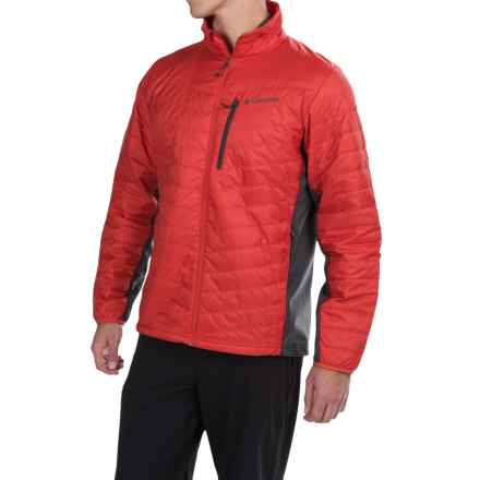 Columbia Sportswear Passo Alto Omni-Heat® Jacket - Insulated (For Men) in Super Sonic/Shark - Closeouts