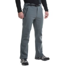 Columbia Sportswear Passo Alto Omni-Heat® Soft Shell Pants (For Men) in Graphite - Closeouts