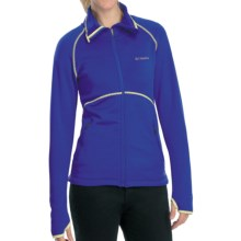 Columbia Sportswear Passo Alto Shirt - Full Zip, Long Sleeve (For Women) in Light Grape - Closeouts