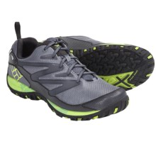 Columbia Sportswear Pathgrinder OutDry® Trail Shoes - Waterproof (For Men) in Charcoal/Wham - Closeouts