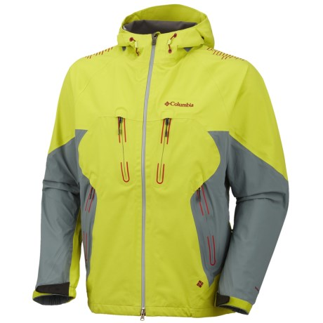 Columbia Sportswear Peak 2 Peak II Omni-Dry® Shell Jacket - Waterproof (For Men) in Chartreuse