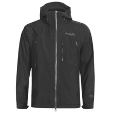 Columbia Sportswear Peak Ascent Shell Jacket - Titanium (For Men) in Black - Closeouts