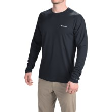 Columbia Sportswear Peak Racer Omni-Wick® Shirt - Long Sleeve (For Men) in Black - Closeouts