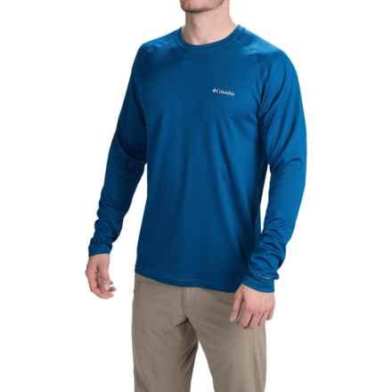 Columbia Sportswear Peak Racer Omni-Wick® Shirt - Long Sleeve (For Men) in Marine Blue - Closeouts