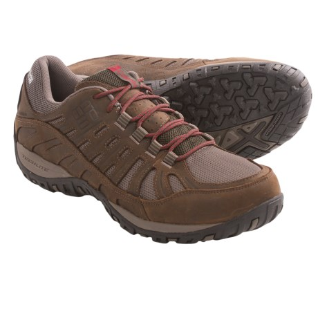 Columbia Sportswear Peakfreak Enduro Leather OutDry® Trail Shoes - Waterproof (For Men) in Cordovan/Chili