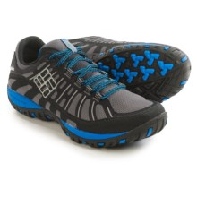 Columbia Sportswear Peakfreak Enduro Omni-Tech® Hiking Shoes - Waterproof (For Men) in Black/Hyper Blue - Closeouts