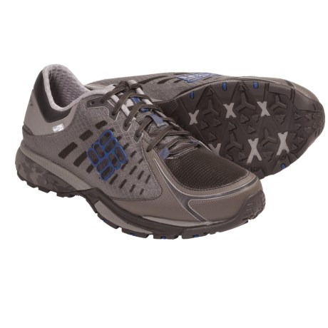 Columbia Sportswear PeakFreak Low OutDry® Trail Shoes (For Men) in Chili/Coal