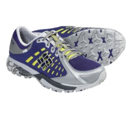 Columbia Sportswear PeakFreak Low OutDry® Trail Shoes (For Women) in Mud/Berry Jam