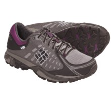 Columbia Sportswear PeakFreak Low OutDry® Trail Shoes (For Women) in Mud/Berry Jam - Closeouts