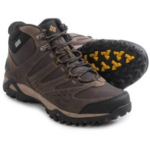 Columbia Sportswear Peakfreak XCRSN Mid Leather Hiking Boots - Waterproof (For Men) in Mud/Caramel - Closeouts