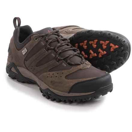 Columbia Sportswear Peakfreak Xcrsn OutDry Trail Shoes - Waterproof, Leather (For Men) in Mud/Cedar - Closeouts