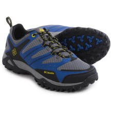 Columbia Sportswear Peakfreak XCRSN XCEL OutDry® Trail Shoes - Waterproof (For Men) in Azul/Ginkgo - Closeouts