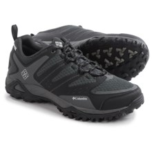 Columbia Sportswear Peakfreak XCRSN XCEL OutDry® Trail Shoes - Waterproof (For Men) in Black/Lux - Closeouts