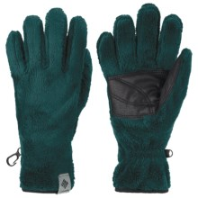 Columbia Sportswear Pearl Plush II Fleece Gloves (For Women) in Blue Forest - Closeouts