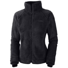 Columbia Sportswear Pearl Plush II Fleece Jacket (For Plus Size Women) in Black - Closeouts