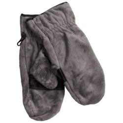 Columbia Sportswear Pearl Plush Mittens - Fleece (For Women) in Black