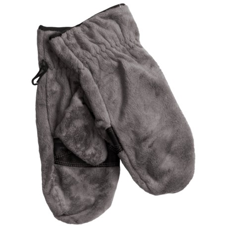 Columbia Sportswear Pearl Plush Mittens - Fleece (For Women) in Grill