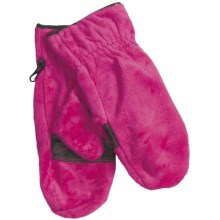 Columbia Sportswear Pearl Plush Mittens - Fleece (For Women) in Posey - Closeouts