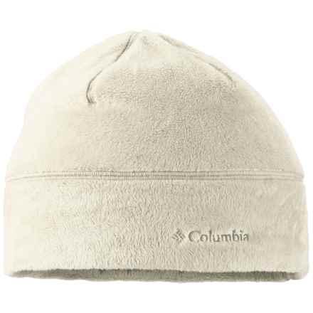 Columbia Sportswear Pearl Plush Omni-Heat® Beanie Hat (For Women) in Chalk - Closeouts