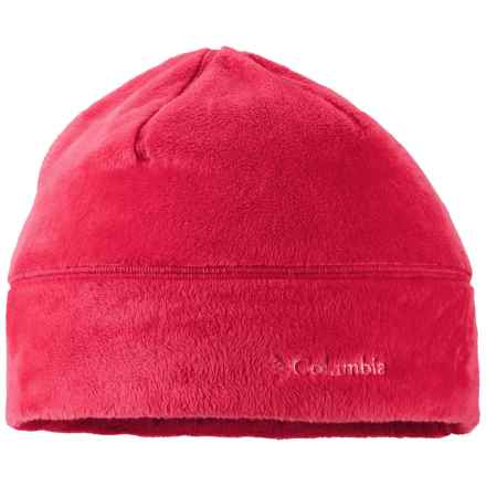 Columbia Sportswear Pearl Plush Omni-Heat® Beanie Hat (For Women) in Punch Pink - Closeouts