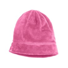 Columbia Sportswear Pearl Plush Tots Beanie Hat - Fleece (For Kids) in Pink Taffy - Closeouts
