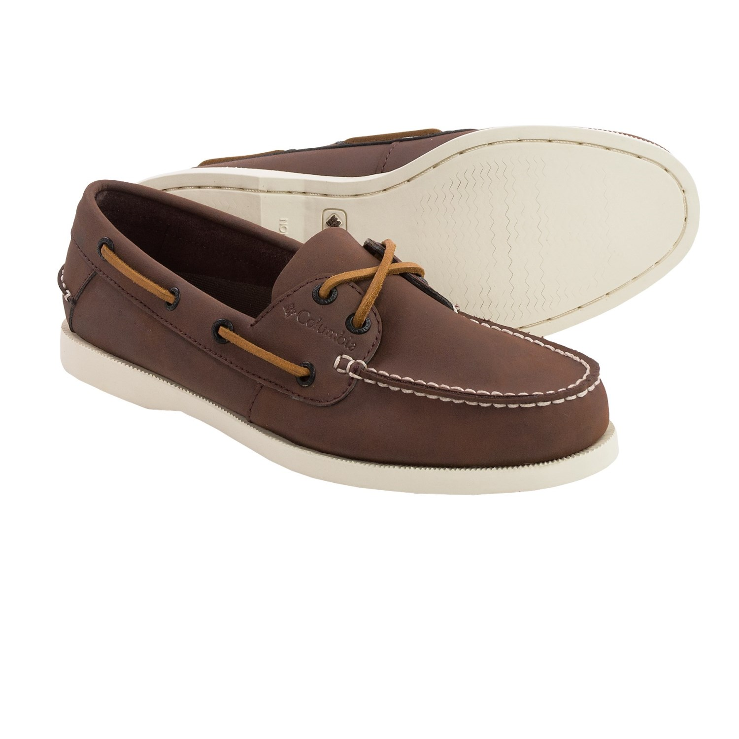 Columbia Sportswear Perfect Cast Boat Shoes - Leather (For Men) in ...