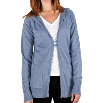 Columbia Sportswear Perfect Layer Hoodie Sweater - Knit (For Women) in Beacon Heather