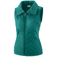 Columbia Sportswear Perfect Mix Vest - Insulated (For Women) in Emerald - Closeouts