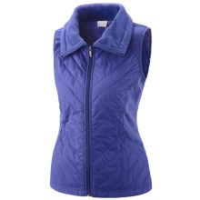 Columbia Sportswear Perfect Mix Vest - Insulated (For Women) in Light Grape - Closeouts