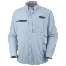 Columbia Sportswear PFG Airgill Chill Shirt - UPF 30, Long Sleeve (For Men) in Mirage - Closeouts