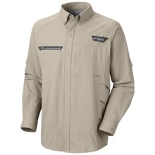 Columbia Sportswear PFG Airgill Chill Zero Shirt - UPF 50, Long Sleeve (For Men) in Fossil - Closeouts