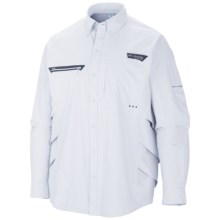 Columbia Sportswear PFG Airgill Chill Zero Shirt - UPF 50, Long Sleeve (For Men) in White - Closeouts