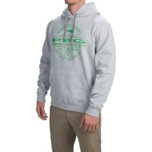 Columbia Sportswear PFG All Skill Hoodie (For Men) in Grey Heather/Emerald City - Closeouts