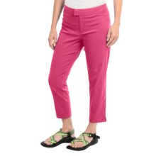 Columbia Sportswear PFG Armadale Ankle Pants - UPF 50, Slim Fit (For Women) in Tango Pink - Closeouts