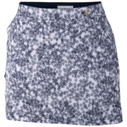 Columbia Sportswear PFG Armadale Skort - UPF 40 (For Women) in Collegiate Navy/Scatter Floral