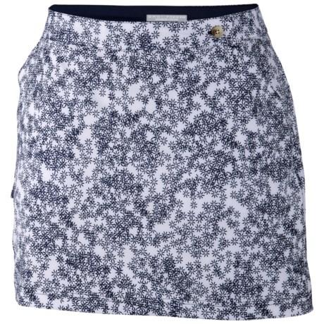 Columbia Sportswear PFG Armadale Skort - UPF 40 (For Women) in Collegiate Navy/Scatter Floral