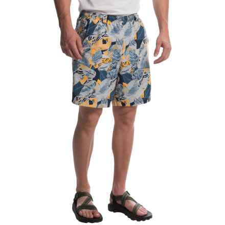 Columbia Sportswear PFG Backcast II Printed Shorts - UPF 50, Built-In Brief (For Men) in Stinger Palm Multi Print - Closeouts