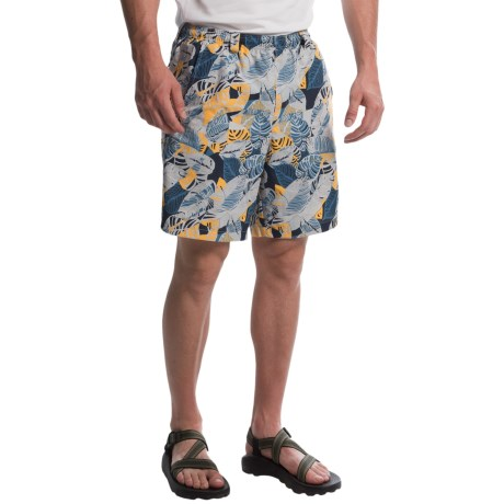Columbia Sportswear PFG Backcast II Printed Shorts - UPF 50, Built-In Brief (For Men) in Stinger Palm Multi Print