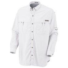 Columbia Sportswear PFG Backcountry Shirt - UPF 30, Long Sleeve (For Men) in White - Closeouts