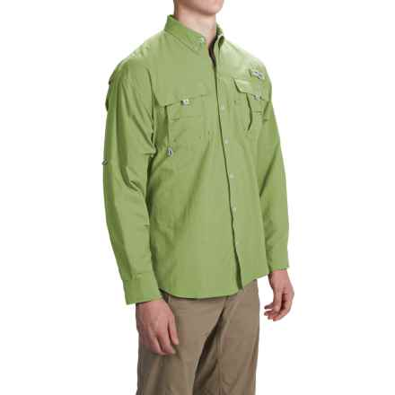 Columbia Sportswear PFG Bahama II Fishing Shirt - Long Sleeve (For Men and Big Men) in Napa Green - Closeouts
