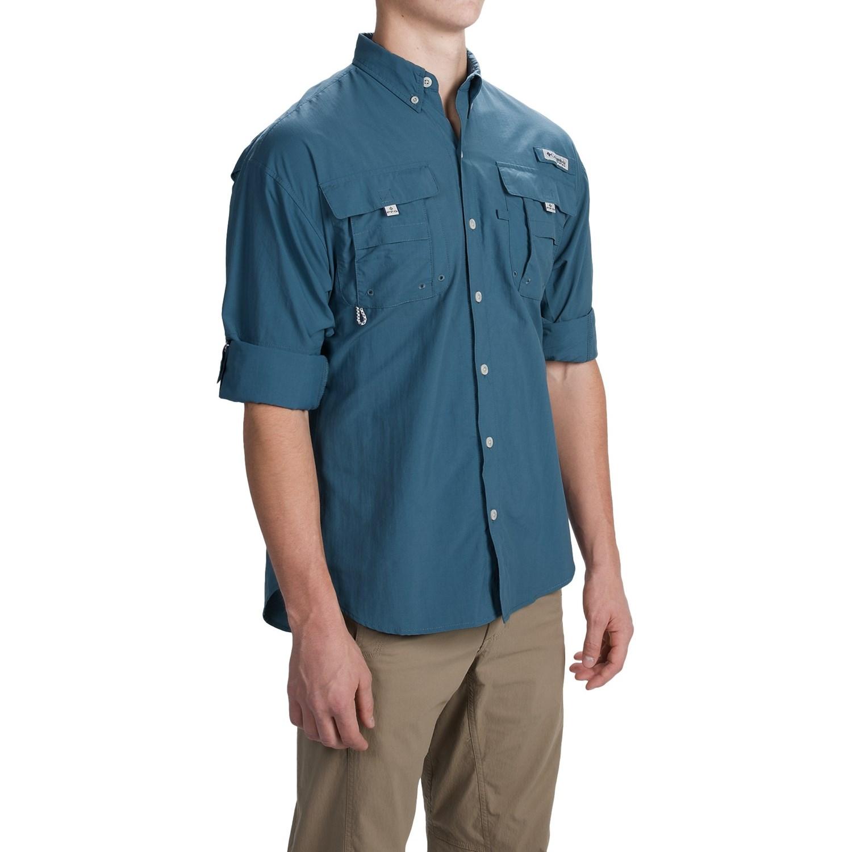 columbia sportswear pfg bahama ii fishing shirt for men