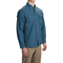 Columbia Sportswear PFG Bahama II Fishing Shirt - Long Sleeve (For Men) in Blue Heron - Closeouts
