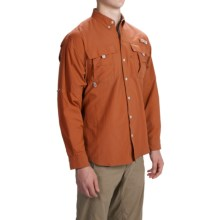 Columbia Sportswear PFG Bahama II Fishing Shirt - Long Sleeve (For Men) in Cedar - Closeouts