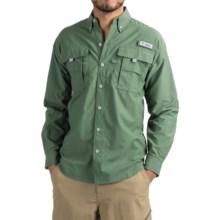 Columbia Sportswear PFG Bahama II Fishing Shirt - Long Sleeve (For Men) in Commando - Closeouts