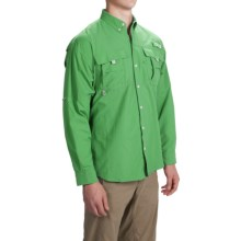 Columbia Sportswear PFG Bahama II Fishing Shirt - Long Sleeve (For Men) in Emerald City - Closeouts