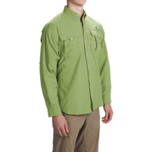Columbia Sportswear PFG Bahama II Fishing Shirt - Long Sleeve (For Men) in Napa Green - Closeouts