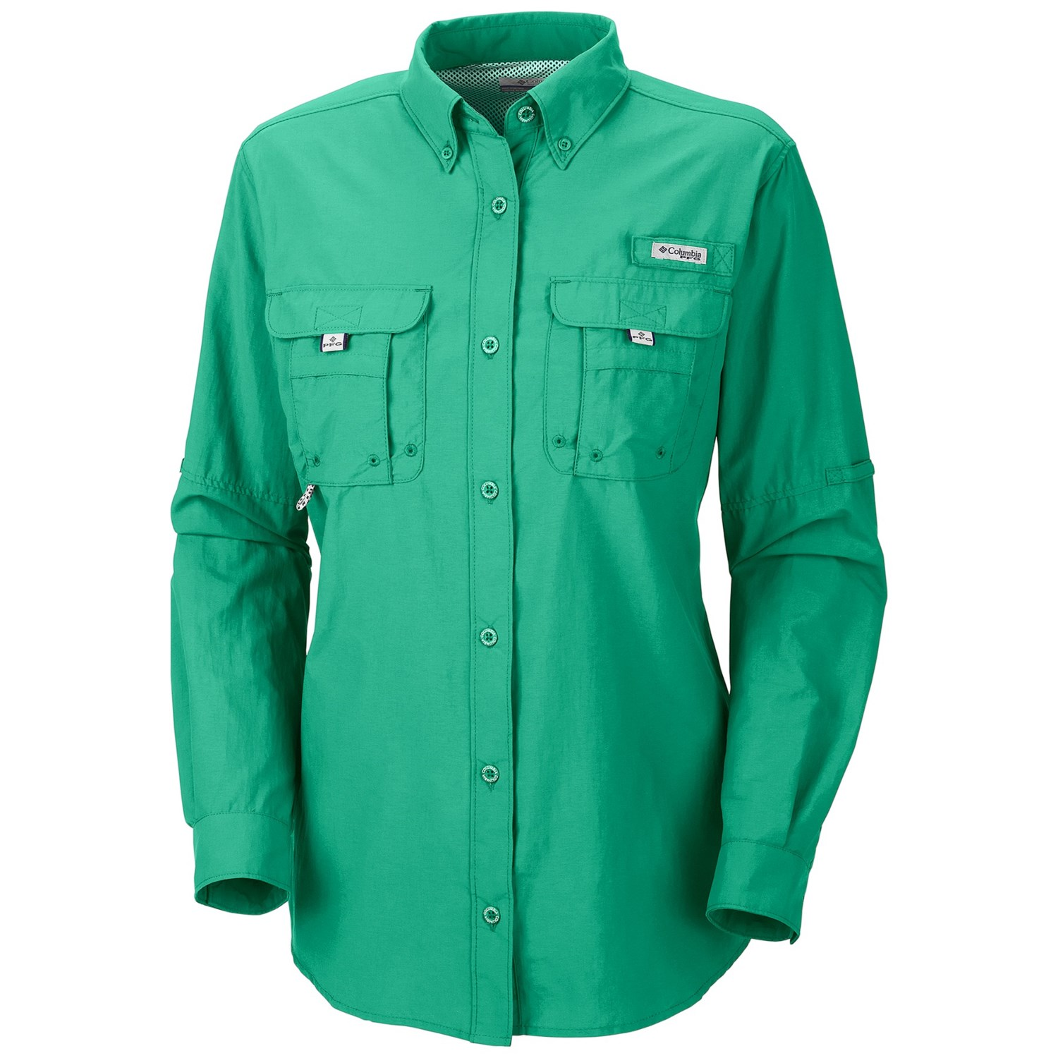 Columbia sportswear pfg bahama shirt upf 30 long sleeve for Columbia shirts womens pfg